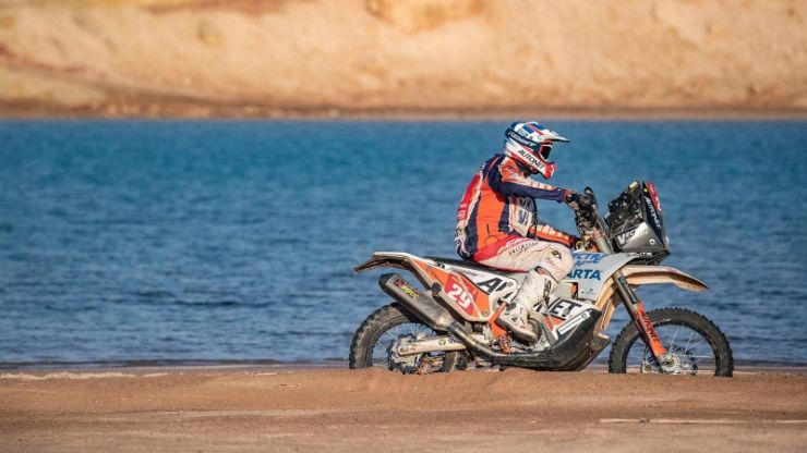 Dakar 2021 | Ziua 9 | Emanuel Gyenes, primul la Malle Moto și pe 25 la general