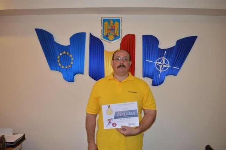 Subofițerul Radu Pop va reprezenta Sătmarul la etapa finală a Concursului de cros şi atletism a MAI