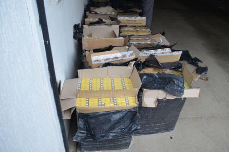 40.000 de țigări ucrainene transportate cu trenul, confiscate
