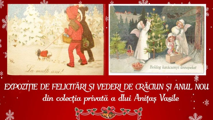 Expoziție de vederi și felicitări de Crăciun, la Carei