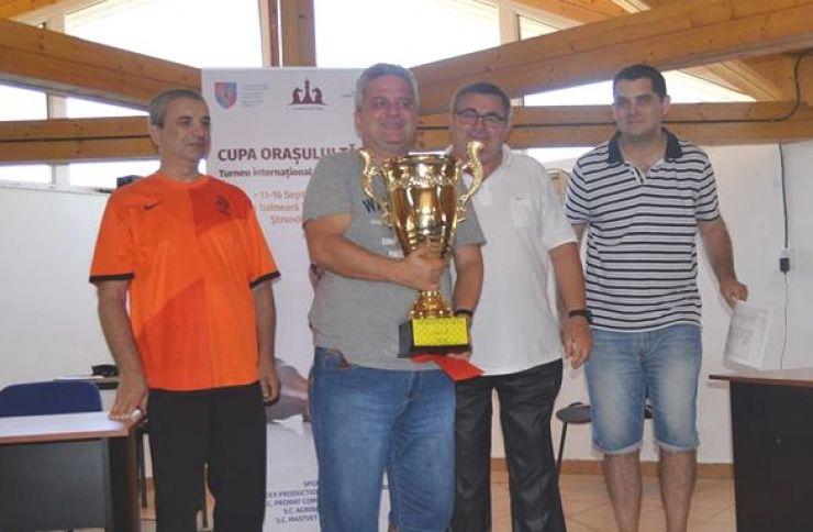 Andrei Istrățescu a câștigat Cupa Orașului Tășnad la șah
