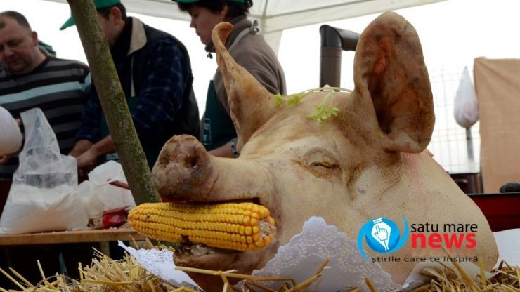 Concurs de tăiat porci, organizat de UDMR, la Foieni