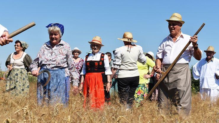 Vârstnicii au sărbătorit secerișul