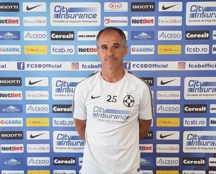 Dacian Nastai, antrenor la FCSB II și FCSB U19