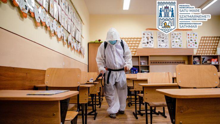 Școlile din municipiul Satu Mare sunt pregătite pentru începerea anului școlar
