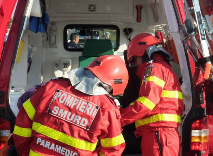 O femeie din Pișcolt, implicată într-un accident rutier pe DN 19