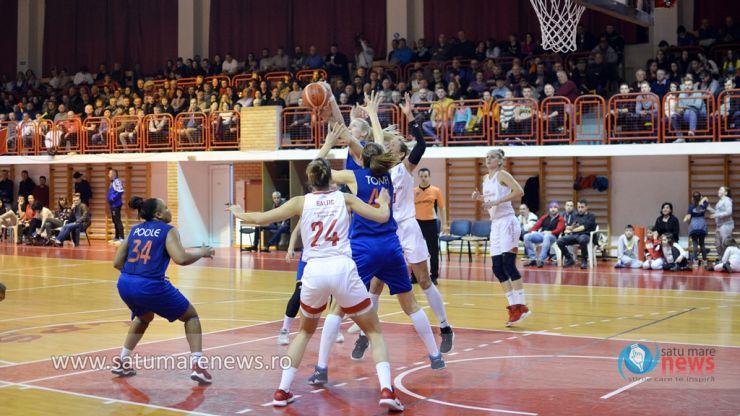 Baschet | CSM Satu Mare a câștigat fără probleme în deplasare la Târgoviște