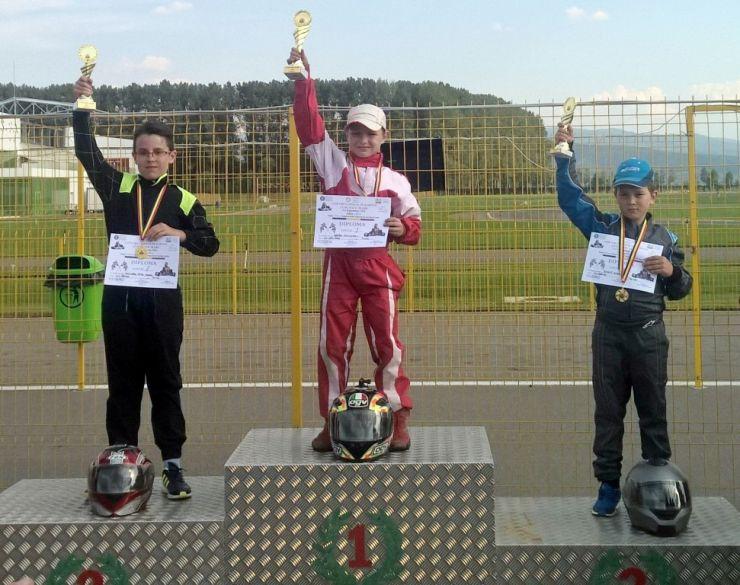 Karting. Alexandru Bretan, victorios și lider în clasamentul general