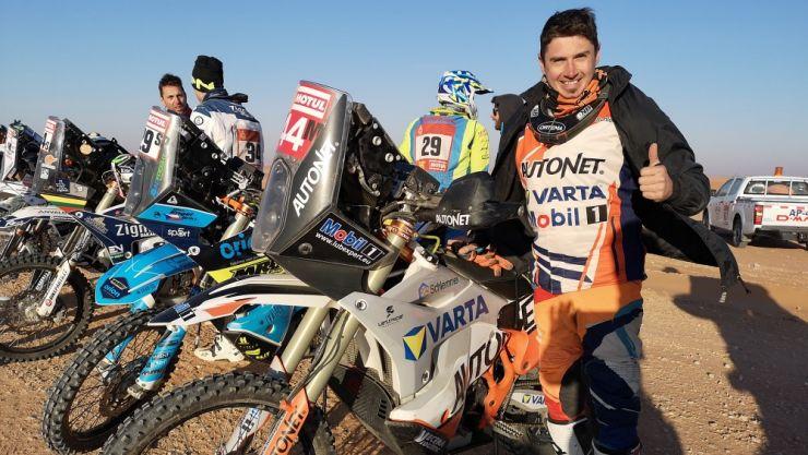 Mani Gyenes a încheiat #Dakar2020 pe primul loc la clasa Malle Moto