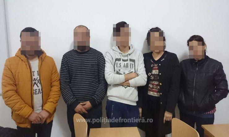 Șase migranţi, cinci iranieni și un irakian, opriți la frontieră
