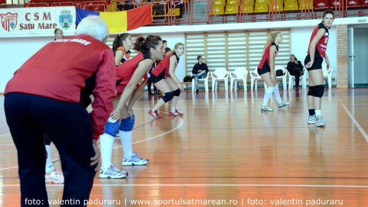 Volei. CSM Satu Mare, la a doua victorie din campionat
