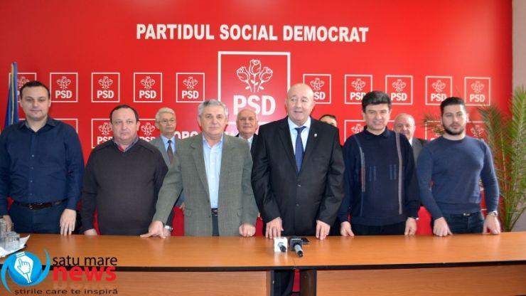 PSD Satu Mare a validat candidații pentru primăriile din județ