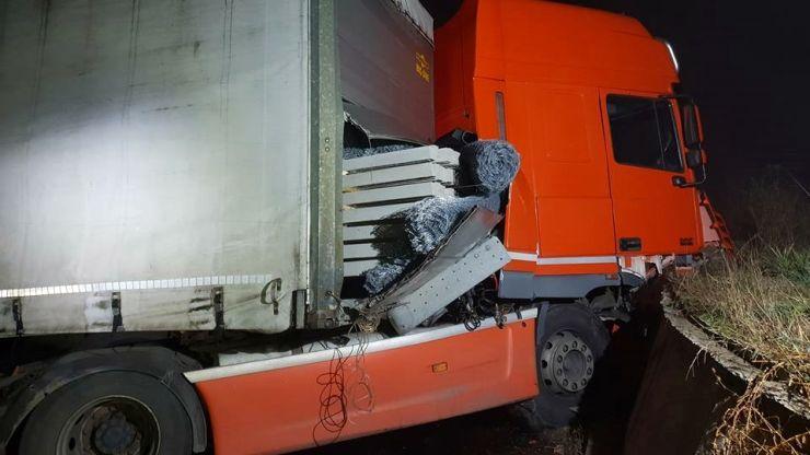 Un nou accident în sensul giratoriu din Terebești