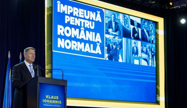 Alianța USR PLUS, PMP și FDG Satu Mare îl susțin pe Klaus Iohannis pentru turul II al alegerilor prezidențiale