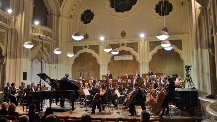 Concert simfonic, joi, la Filarmonică