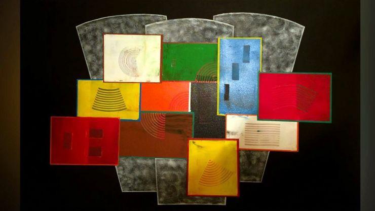 Expoziție de pictură abstractă la Castelul din Carei