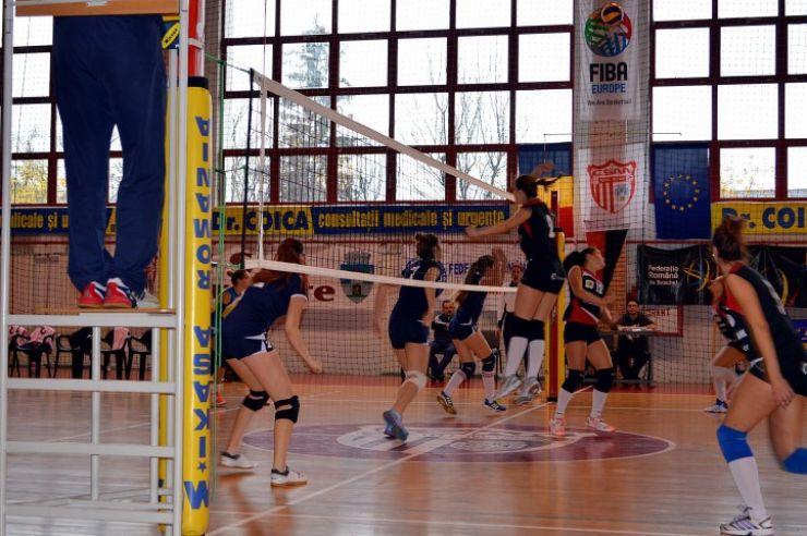 Volei: CSM Satu Mare încheie turul Diviziei A2 cu o victorie