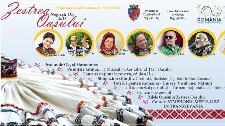Zestrea Oașului, ediție specială de Centenar: artiști și trupe de top la Negrești-Oaș