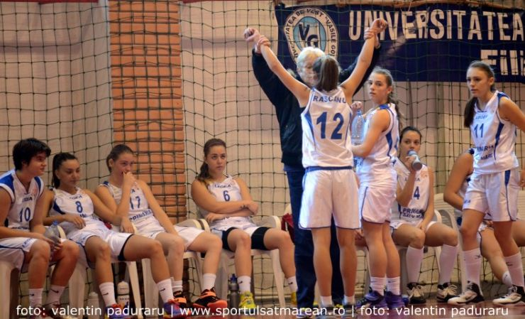 Baschet: Universitatea Cluj 90 - 64 CSM Satu Mare