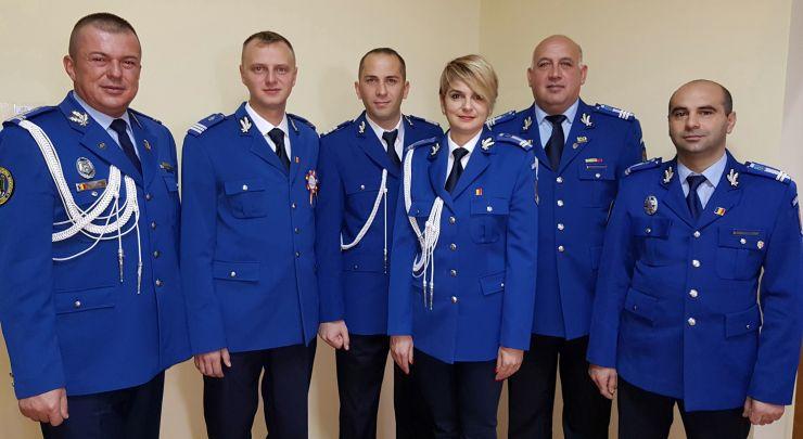 Jandarmi avansați în grad